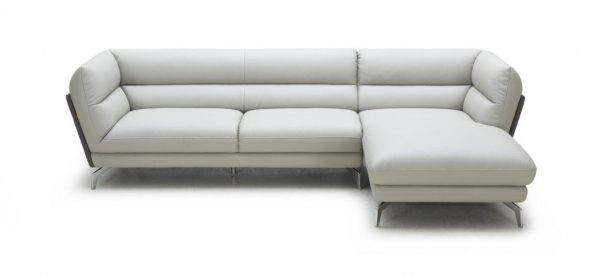 Poppy Modern Eco-Leather Sofa Sectional