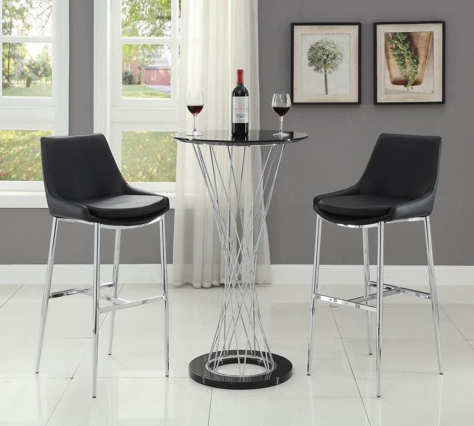 Placenza 3 Pieces Bar Set Las Vegas Furniture Store Modern Home Furniture Cornerstone