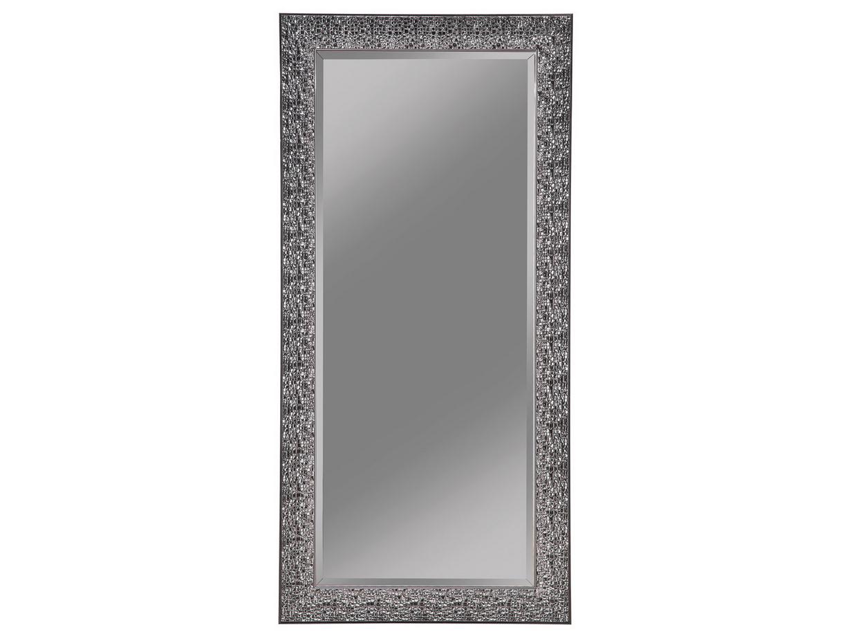 Black Sparkle Floor Mirror