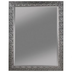 Black Sparkle Wall Mirror