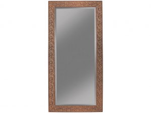 Brown Sparkle Floor Mirror
