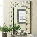 Checker Rectangular Wall Mirror