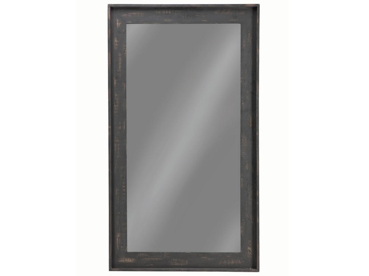 Distressed black large floor mirror las vegas furniture for Big floor mirror