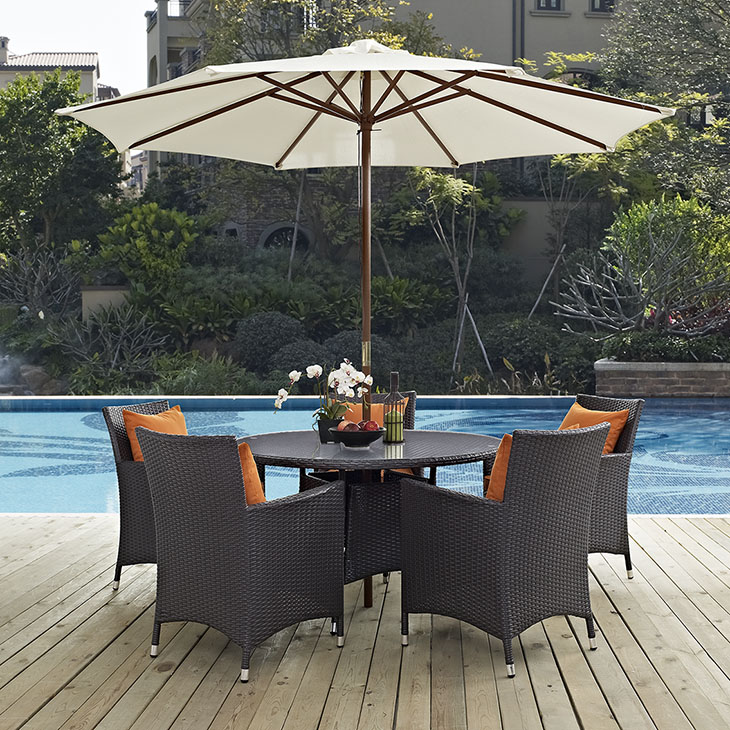 Patio Set Las Vegas: Convene 7pc Outdoor Patio Collection