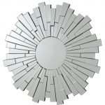 Flower Sun Wall Mirror