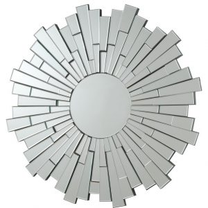 Flower Sun Wall Mirror