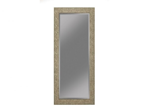 Green Gold Foil Floor Mirror