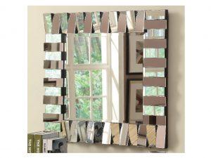 layered panels wall mirror