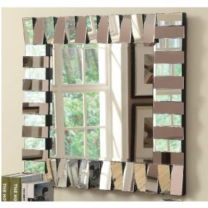 Layered Panels Wall Mirror