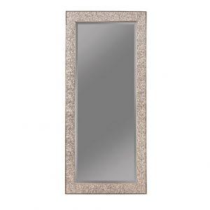 Silver Sparkle Floor Mirror