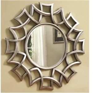 Starburst Accent Wall Mirror