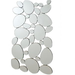 Stone Shape Wall Mirror