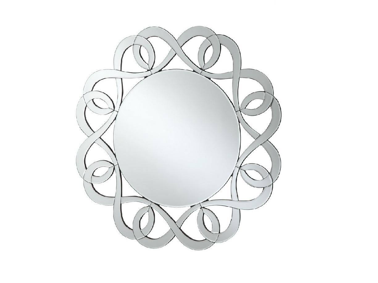 Swirl Line Wall Mirror