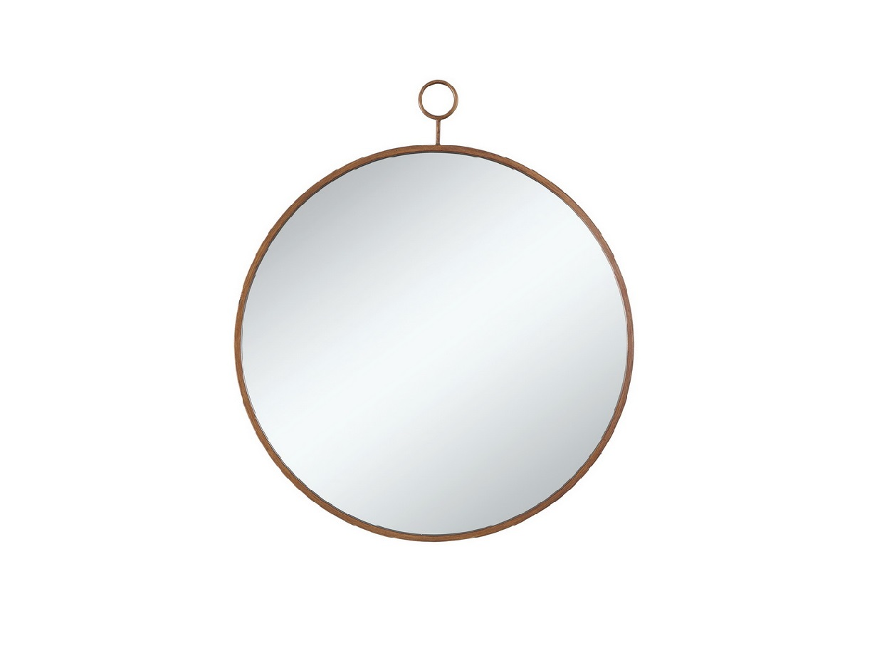Transitional Circe Wall Mirror