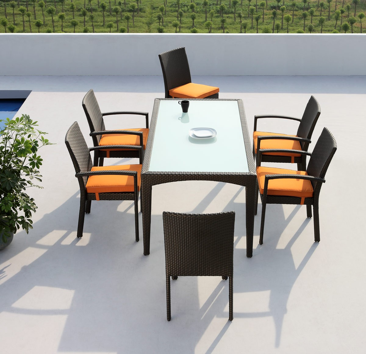Mississippi Outdoor Dining Set Las Vegas Furniture Store Modern Home Furniture Cornerstone Furniture