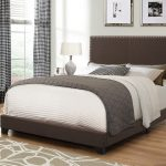 350081q brown fabric bed