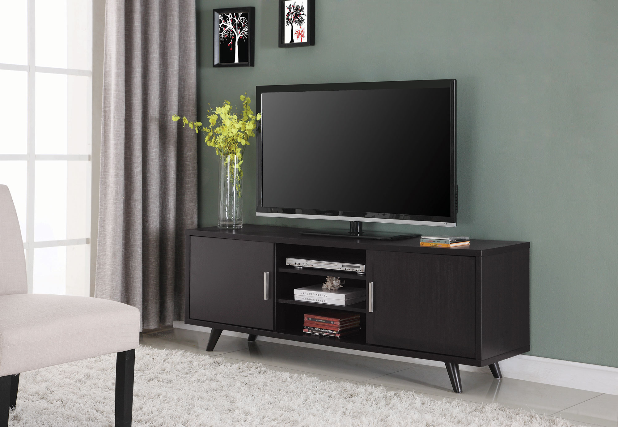 700452 cappuccino tv stand