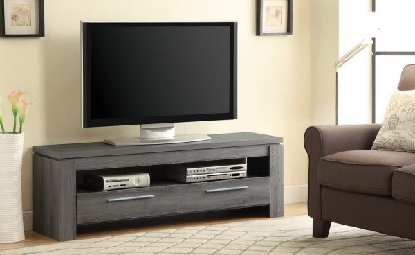 701979 weathered grey tv stand