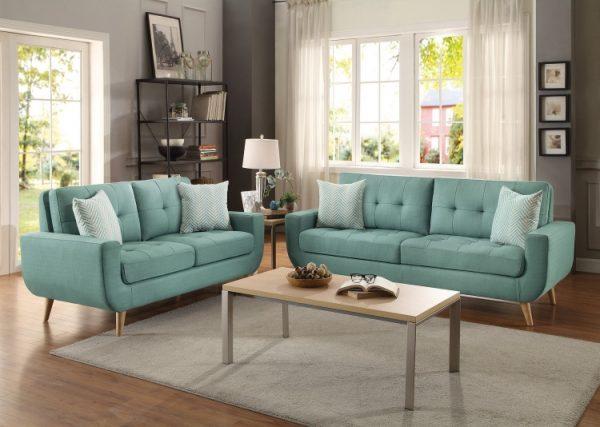 deryn blue sofa 8327