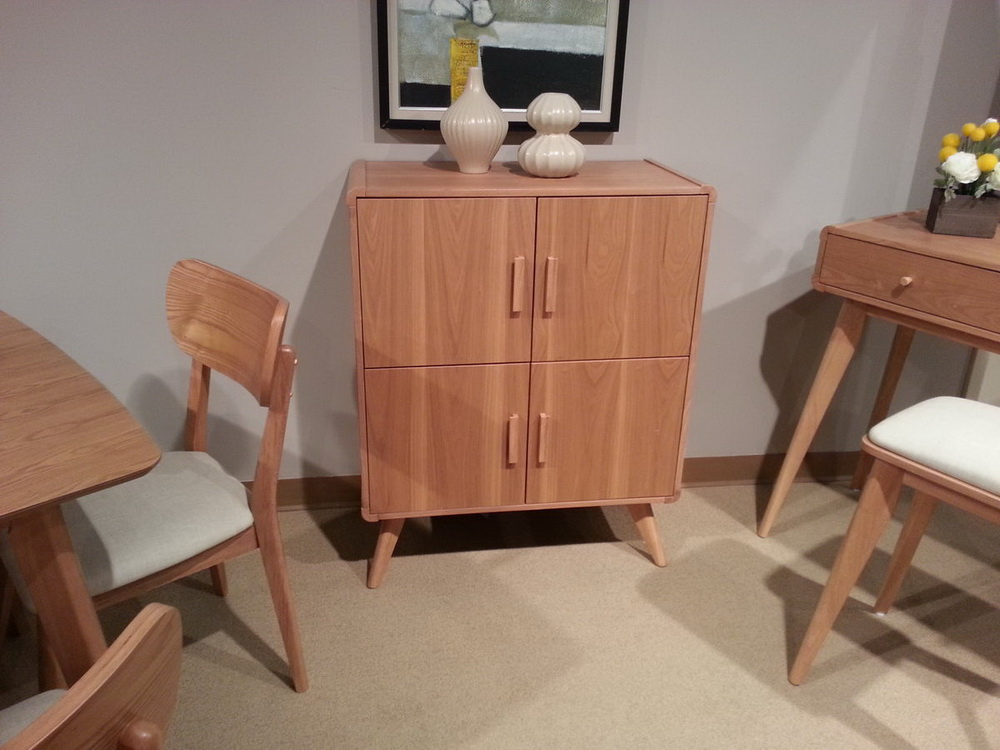 Anika light ash finish mid century bedroom collection for Ash bedroom furniture