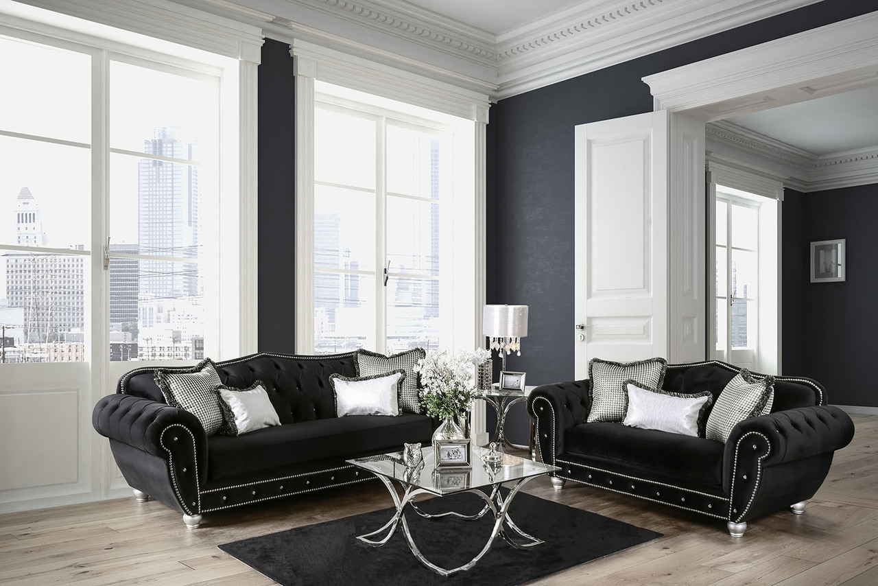 negrini_2-pcs_black_velvet-like_fabric_sofa_set_w_oversized_rolled_arms_sm2295_1__93897-1477959851-1280-1280