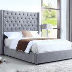 385 las vegas tall headboard velvet bed by bed master