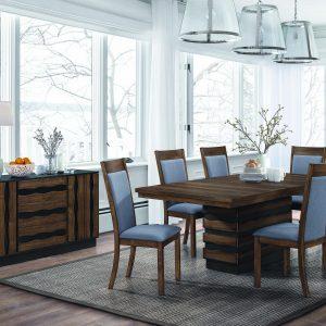 astor wenge dining collection las vegas furniture store modern