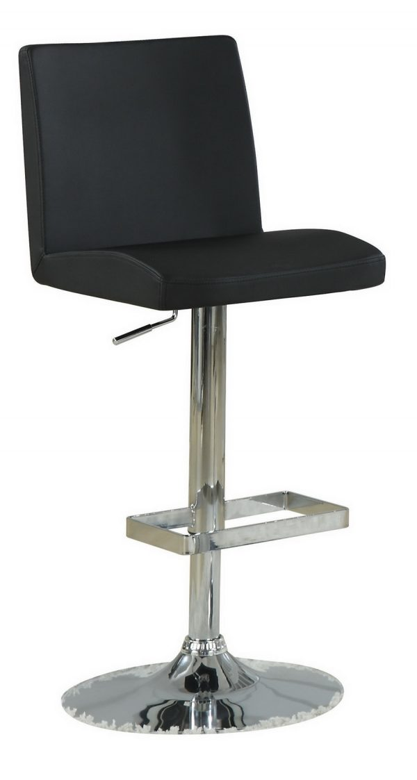 120357-mask black barstool