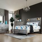 CM7556 daphne bedroom set distress grey finished las vegas
