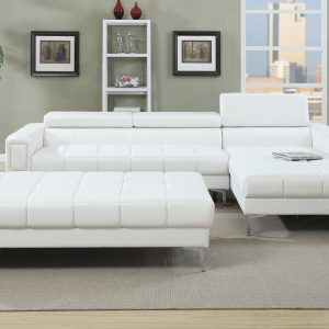 F7364 white sectional las vegas