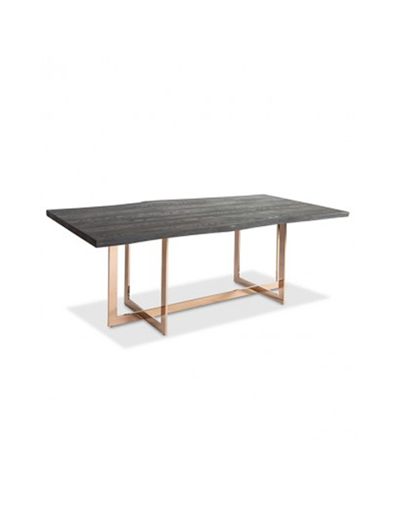 Cooper Dark Ash Dining Table Las Vegas Furniture Store