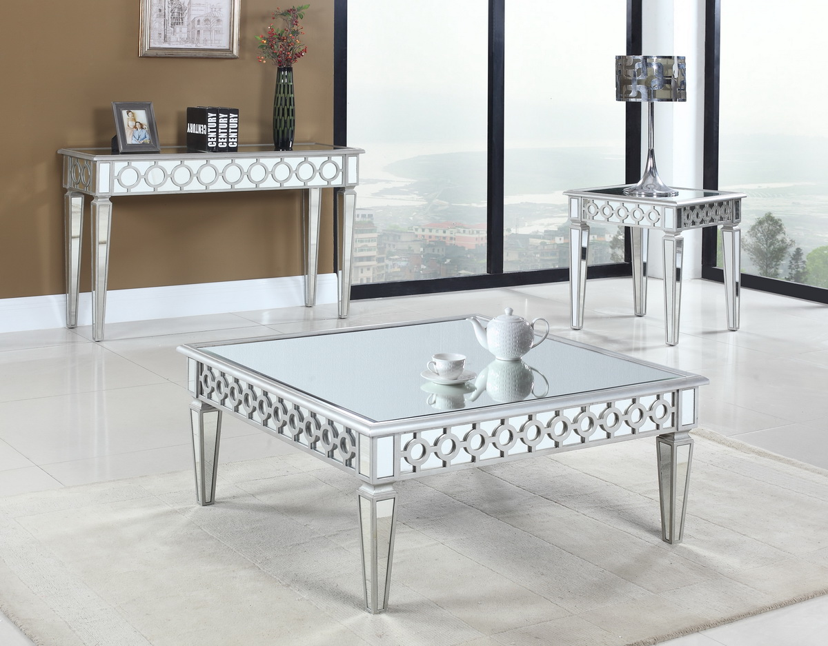 Vegas glam mirror coffee table T1840