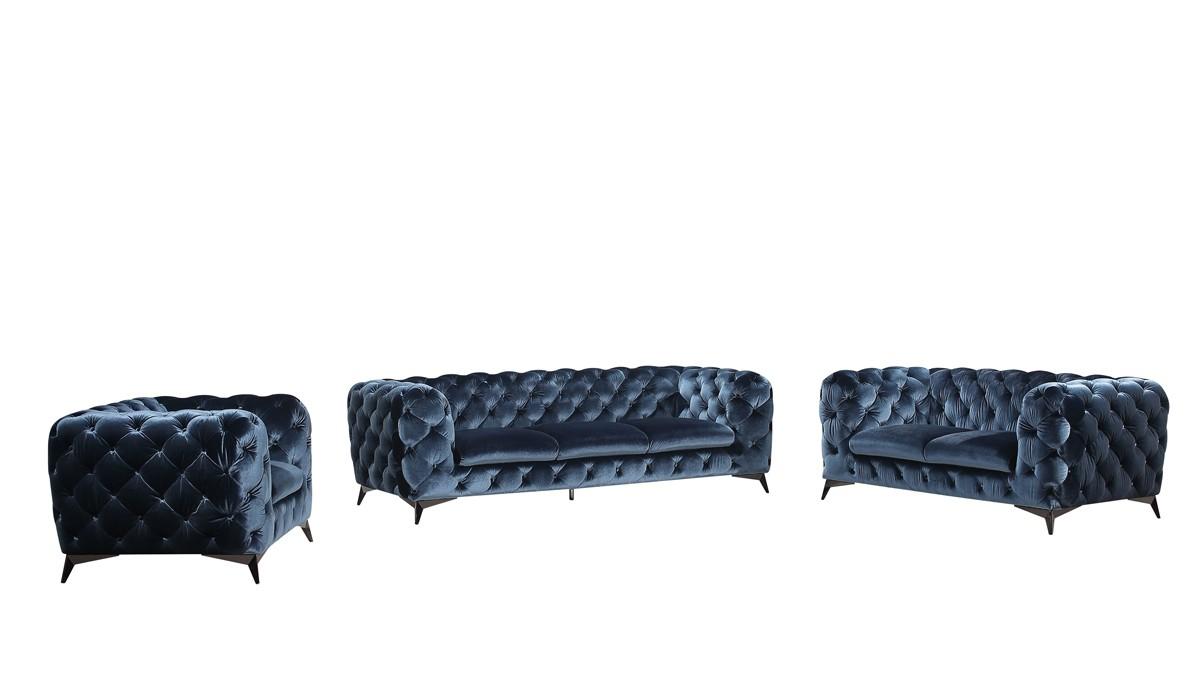 delilah blue sofa set 1
