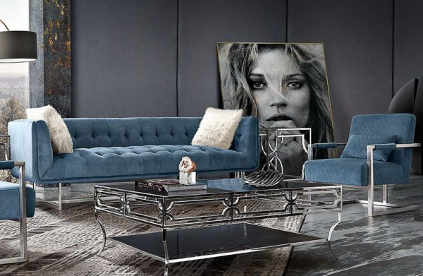 hollywood fabric sofa