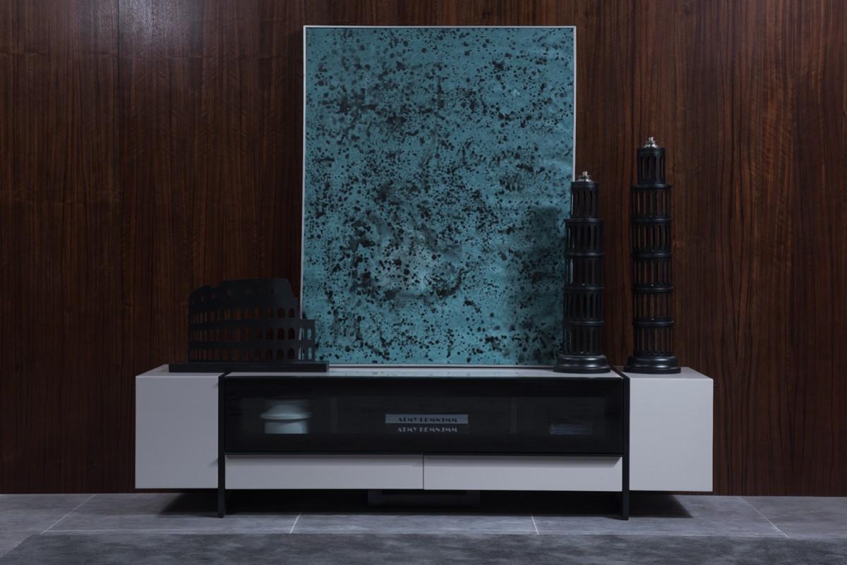 lorena grey tv stand
