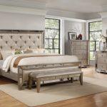 B1980 antique mirror bedroom set