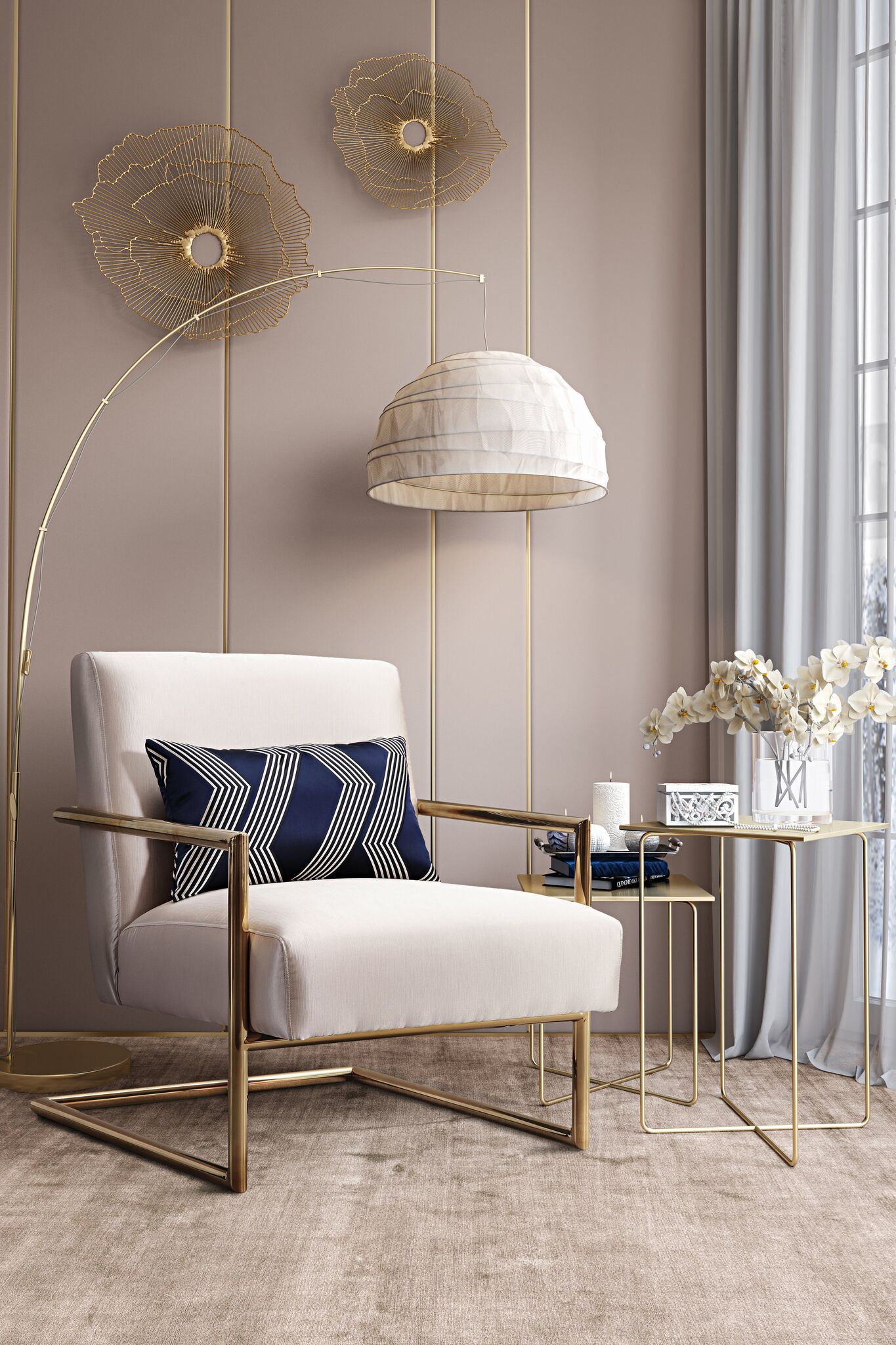 Accent Chairs and Chaises