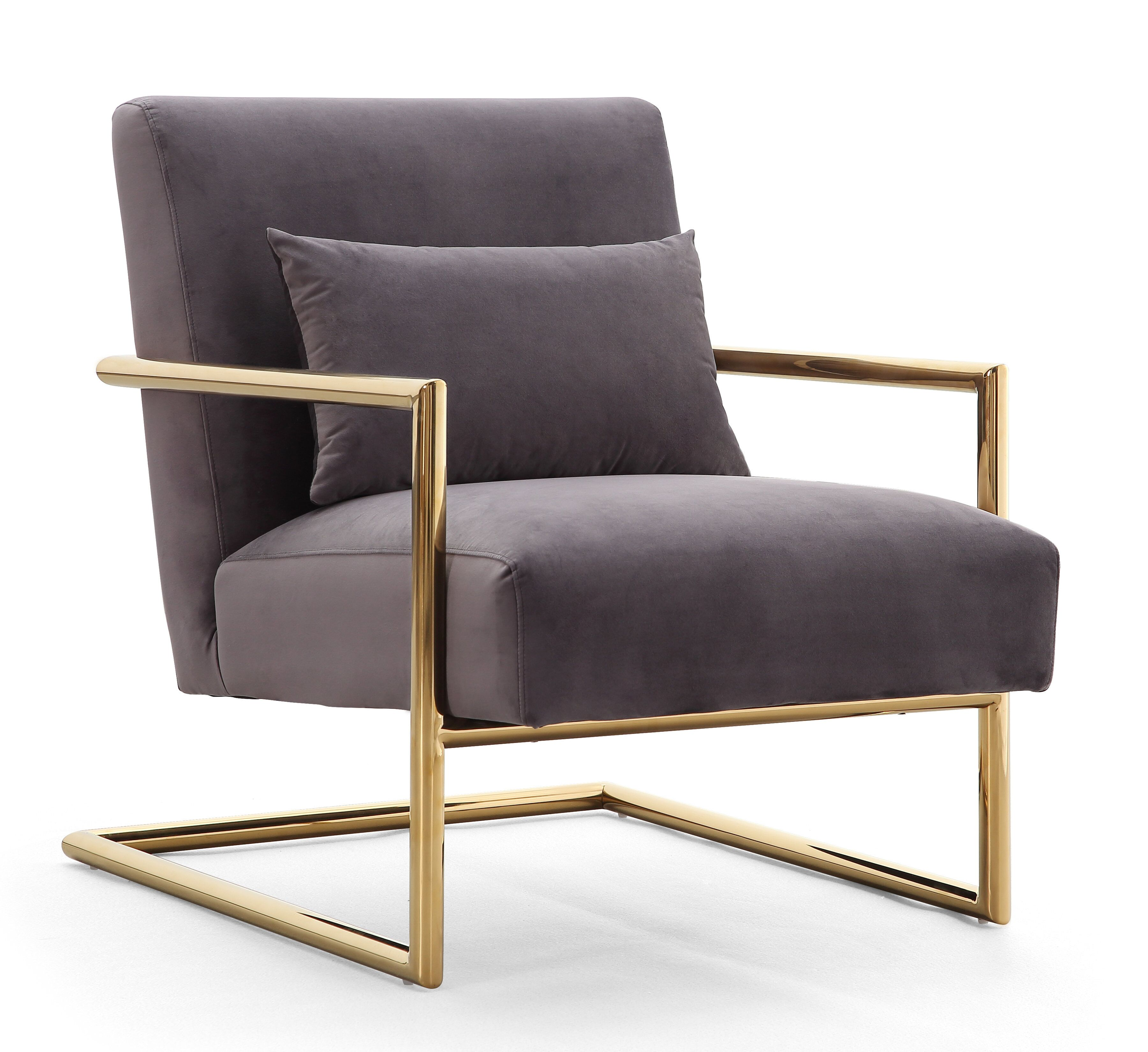 Elle Velvet Chair Las Vegas Furniture Store Modern