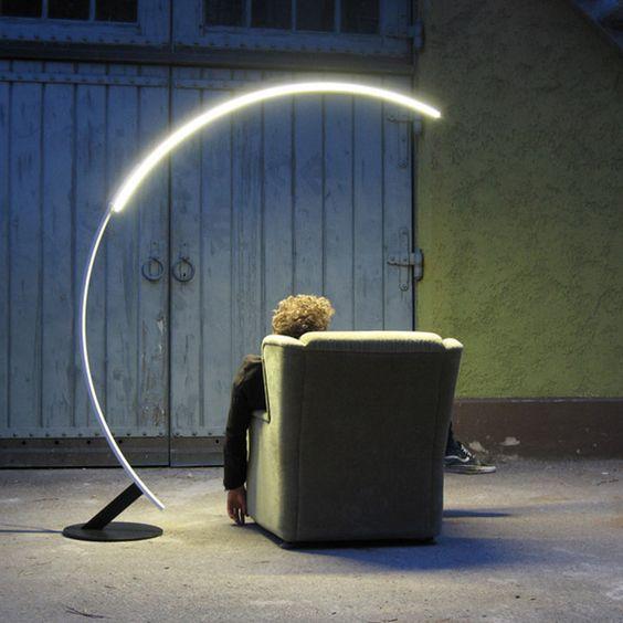 Zurich Arc Led Light Floor Lamp Las