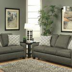 stoke-dark grey sofa and loveseat