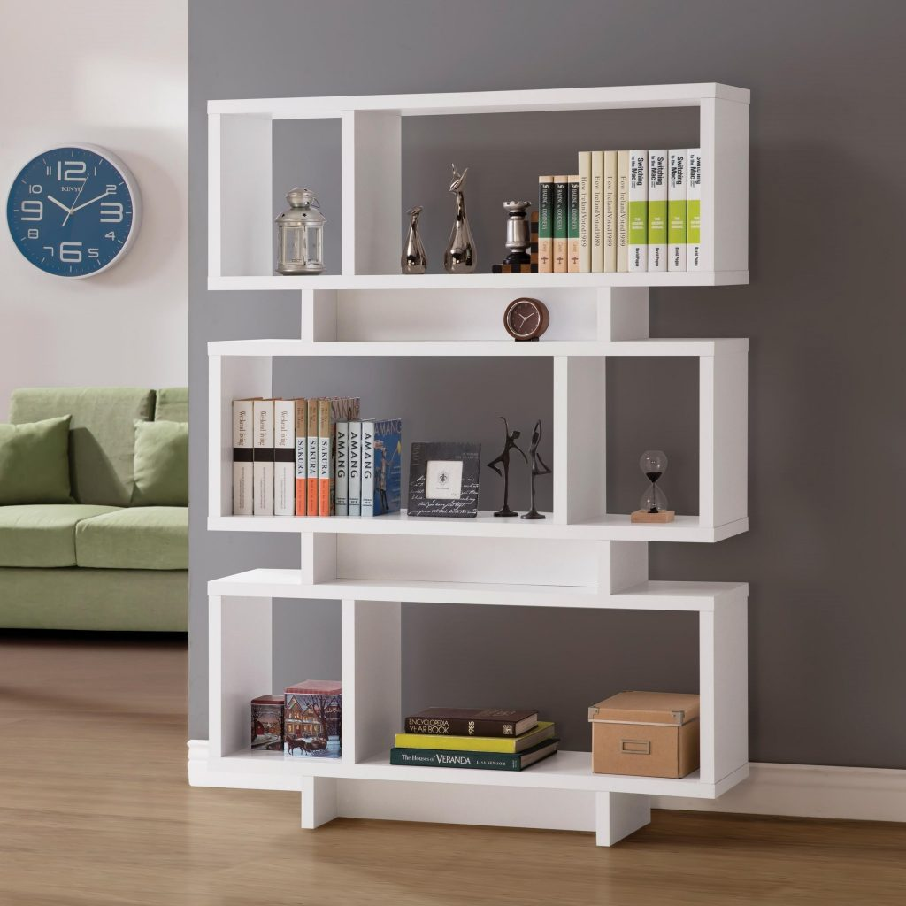 Betty White Wood Finish Bookcase Las Vegas Furniture