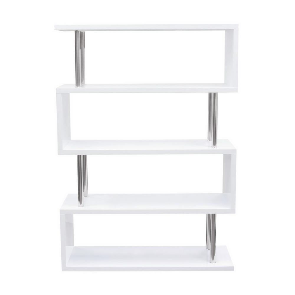 X2 Gloss White Bookcase