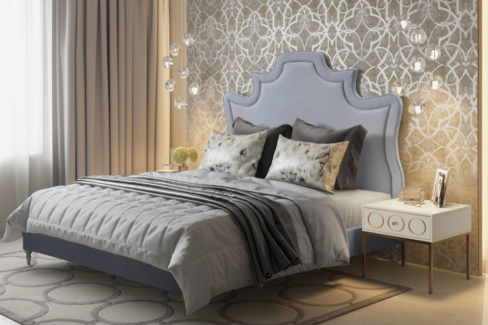 serenity grey bed las vegas