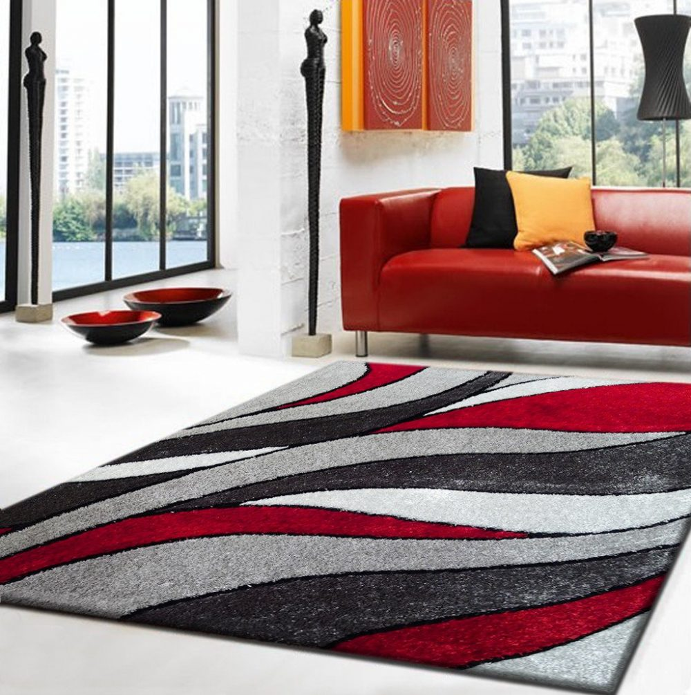 lola 16 red grey area rug