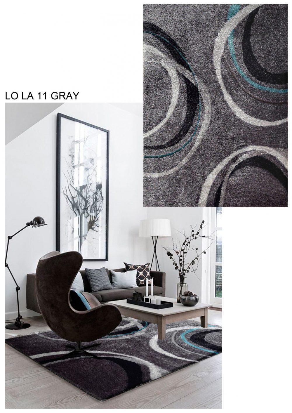lola 11 grey area rug