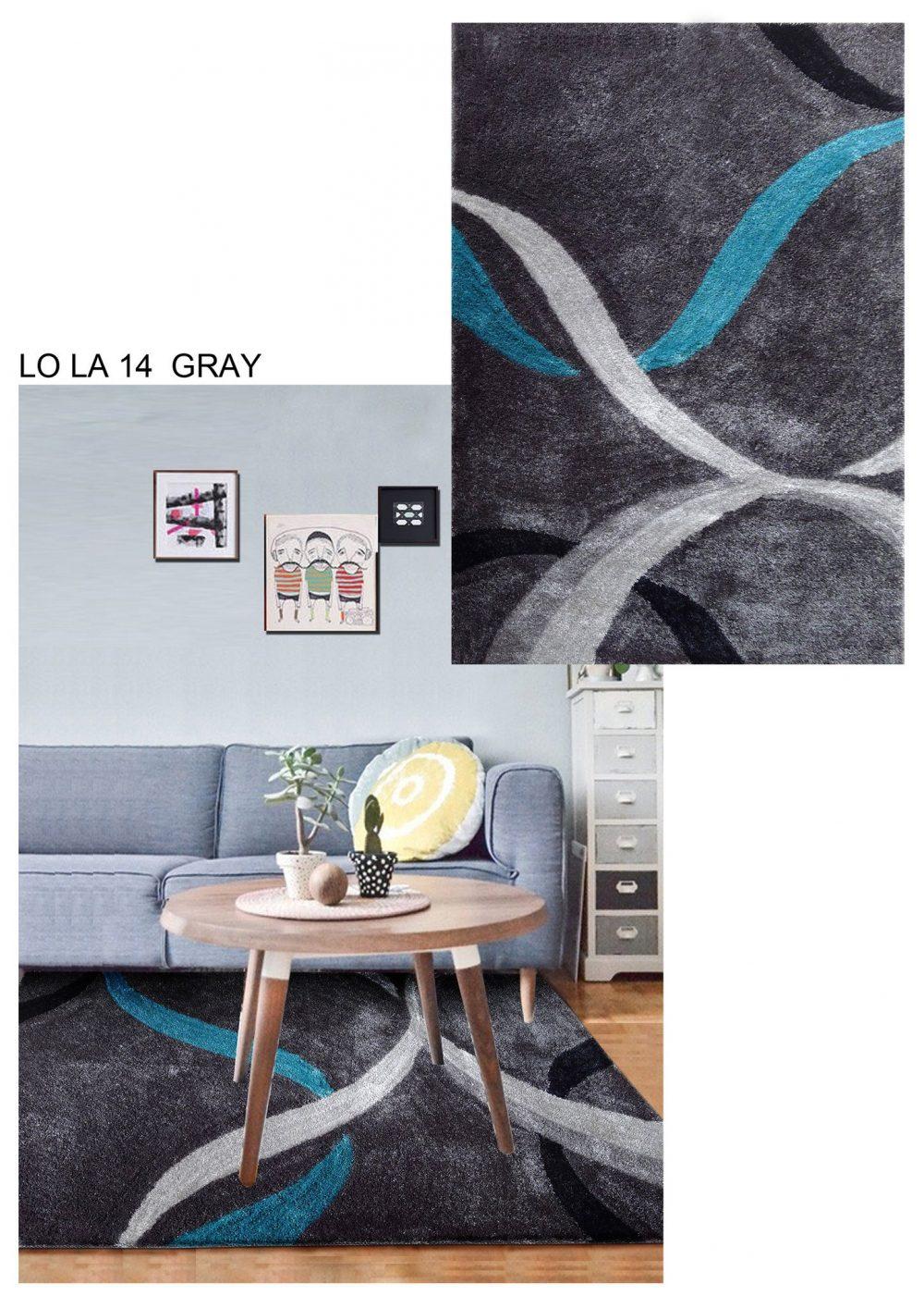 lola 14 grey teal area rug