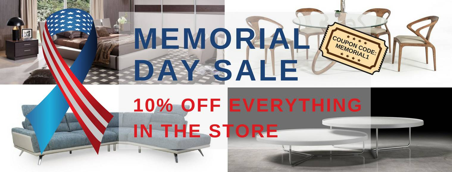 Memorial Day Furniture Sale 2018