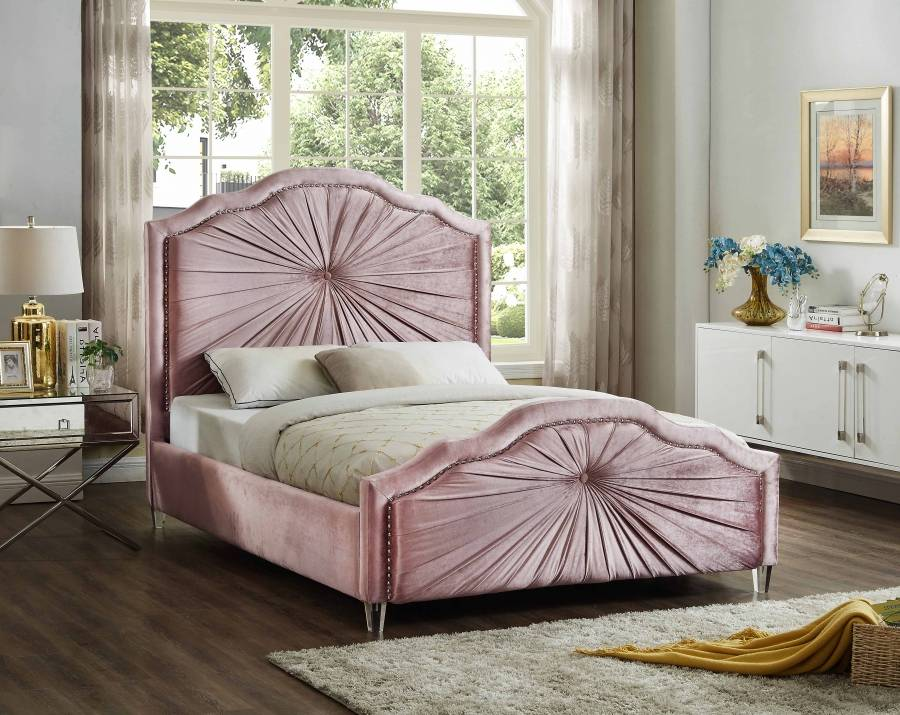 Rosie 2045-1 seashell bed frame