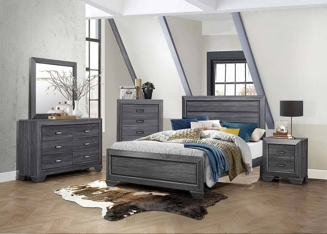 1904GY-BED-SET