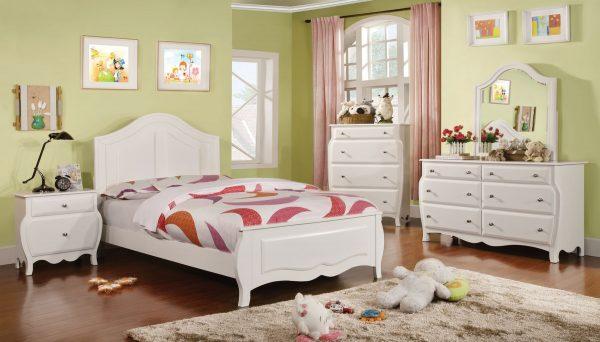 CM7940 ROXANA WHITE BEDROOM SET